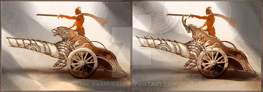 Baahubali 2 Concept Sketches Leaked Photos