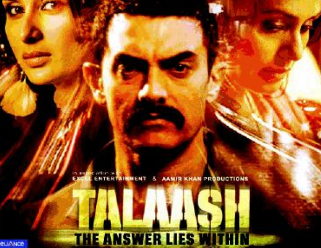 Aamir Khan's ' Talaash 'Film Story Got Revealed