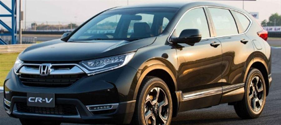 New Honda CR-V SUV with a diesel engine ready to go