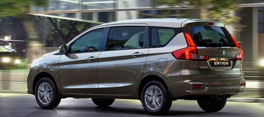 Suzuki Ertiga first images released ahead of its March 23 reveal