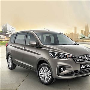 Interior for Maruti Suzuki Ertiga revealed
