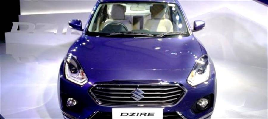 2017 Model Maruti Suzuki Dzire catapulted in India