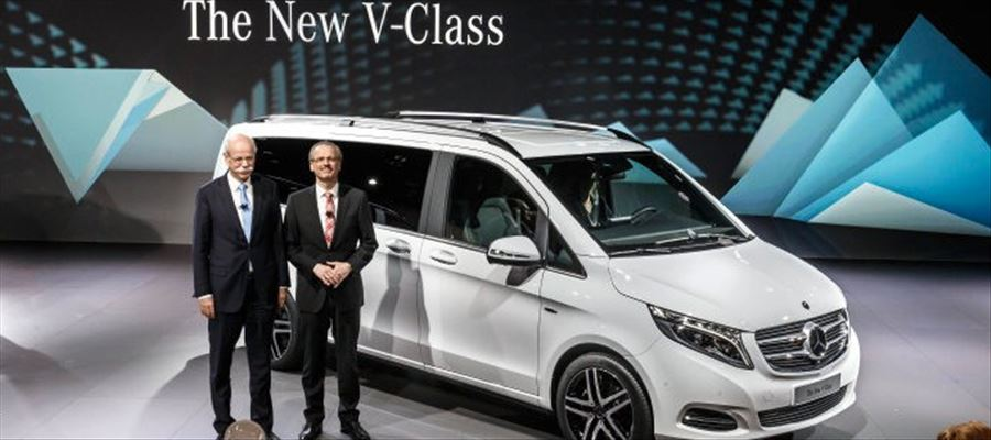Mercedes Benz V Class launched in India