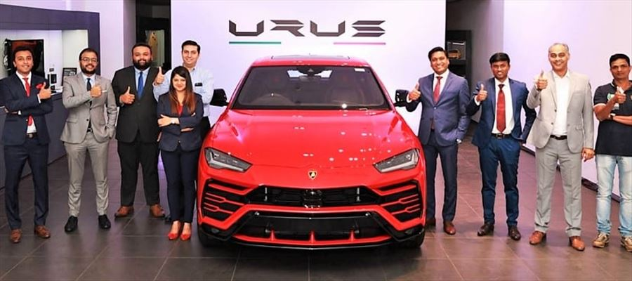 India's first Lamborghini Urus delivered to a Mumbai customer