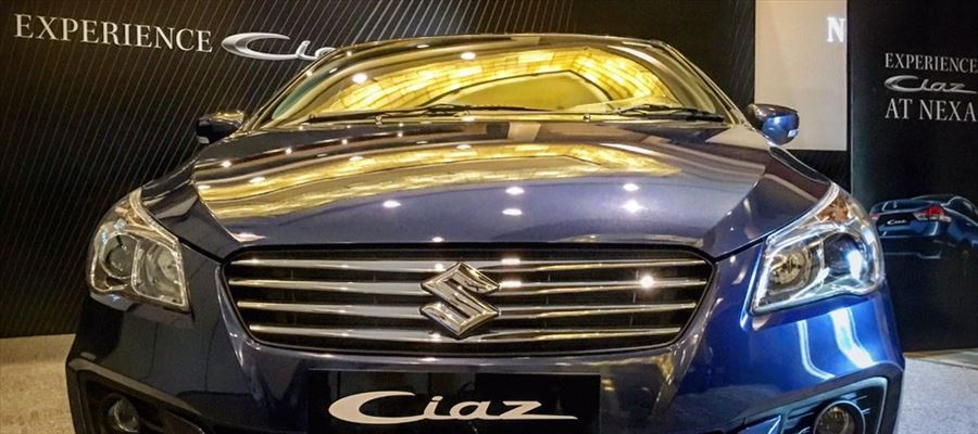 Ciaz facelift gets same number of variants & near-identical color options