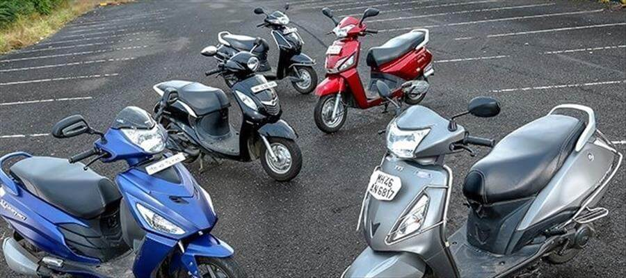 Jupiter, the only scooter in the top 10 selling two wheeler list (Auto)