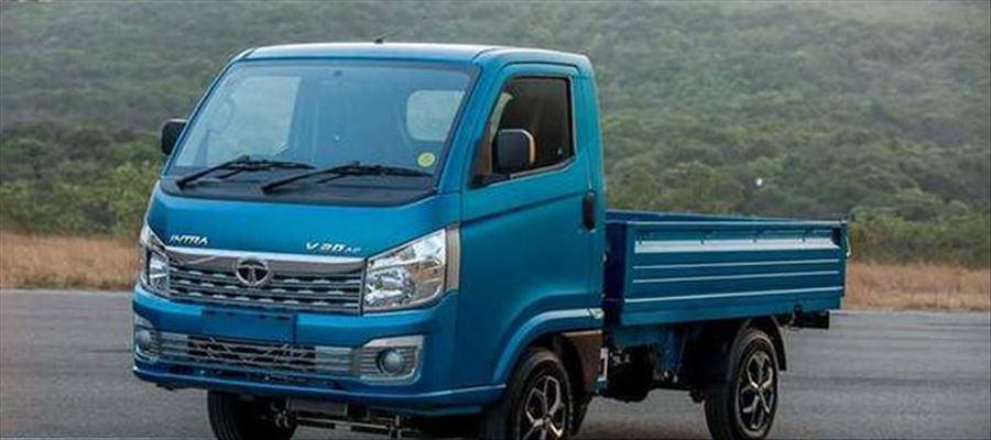 New Tata Intra small commercial vehicle on sale in India on May 22