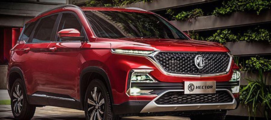 Online Hector SUV Bookings begins from June 4