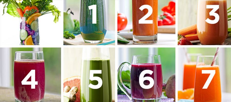 Drinking fat burning juices for weight loss is advisable