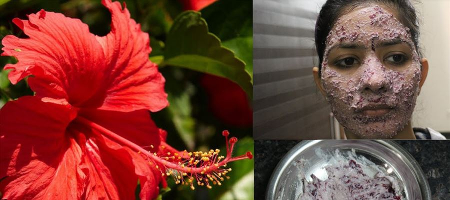 Beauty benefits with Hibiscus Flower