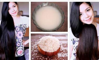 Rice water good for hair growth