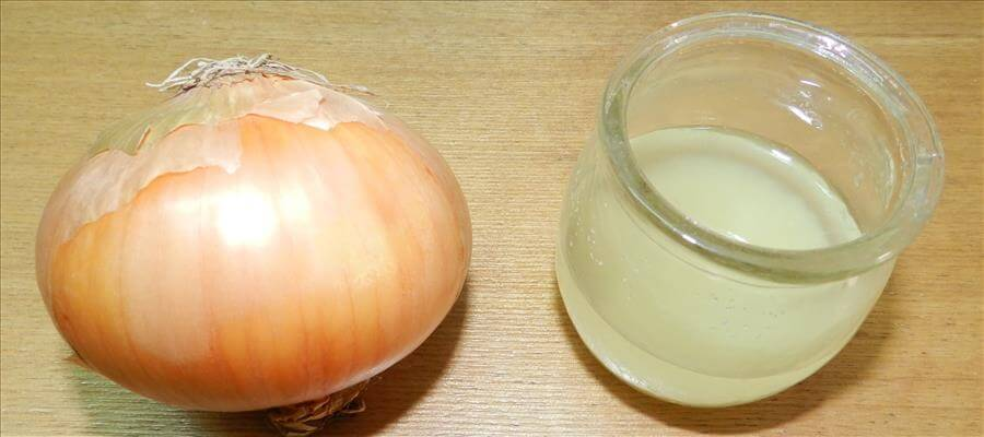 Onion Juice To Prevent Hair Fall