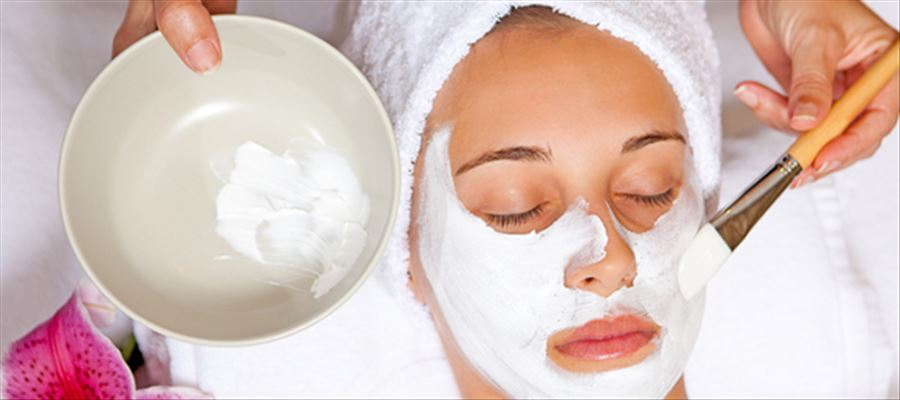 Beauty tips with curd for whitening, spots, glow