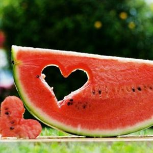 Beauty begins from consumption of Watermelon