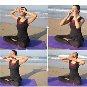 Some yoga poses for Glowing Skin