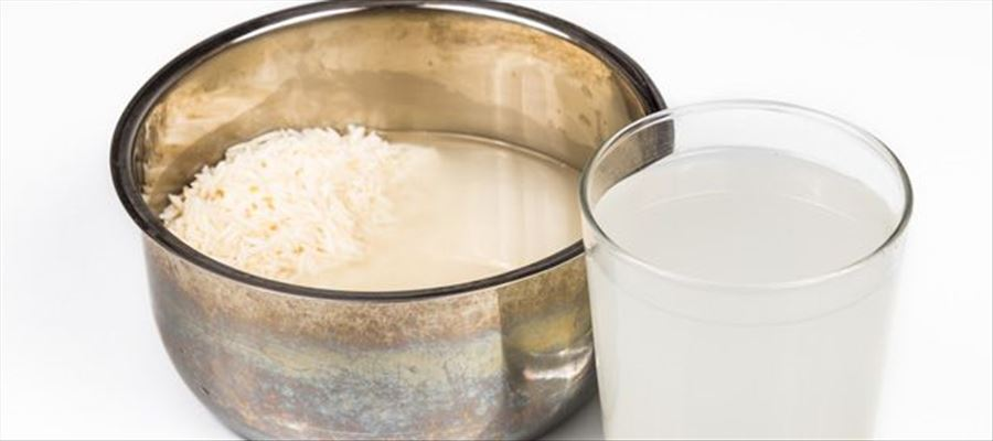 Rice water benefits good for Hair growth fastly