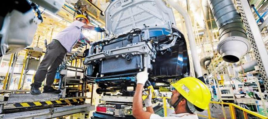 Manufacturing PMI showing strong momentum in last few months