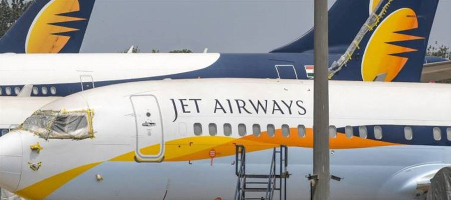 What are the 2 bids received for Jet Airways?