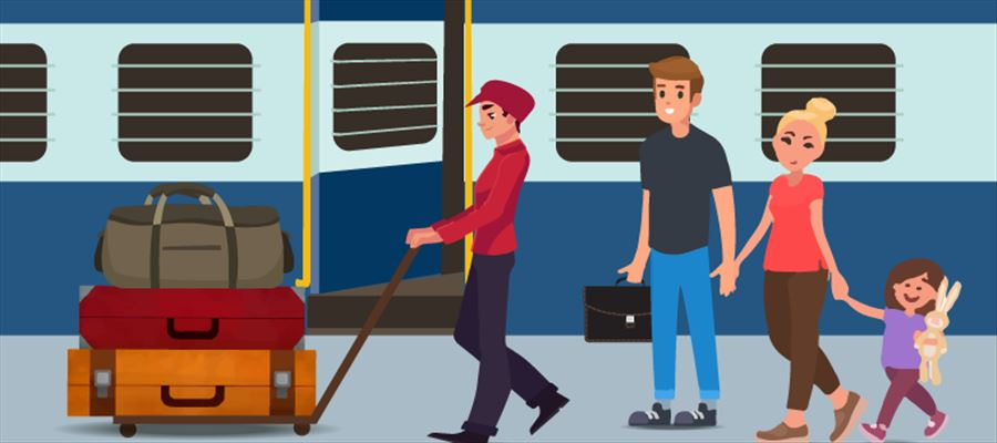 Do you know Indian Railways luggage carrying rules?