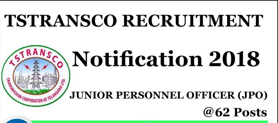 Employment notification from TSTRANSCO