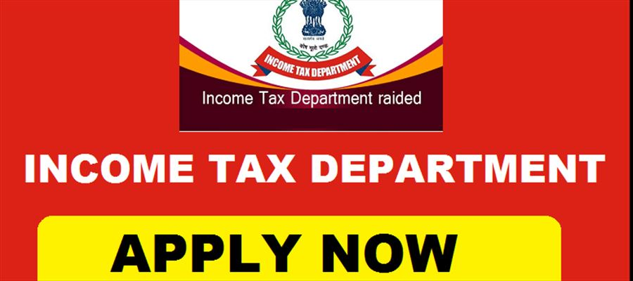 Apply for many posts in Income Tax Department