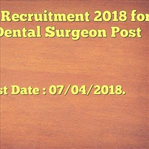 Apply for Dental Surgeon post in OPSC