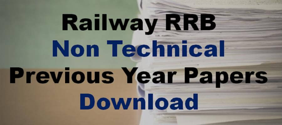 Pdf rrb papers technician solved
