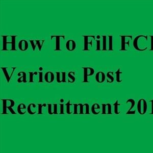 Apply for Various Posts in FCI Recruitment 2019