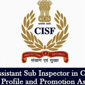 Apply for Assistant Sub Inspector post in CISF