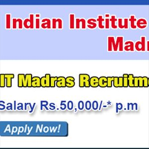 Employment Notification from IITM