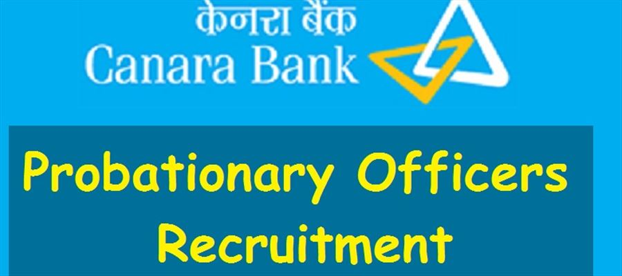 Probationary Officer Post for Canara Bank Recruitment 2018