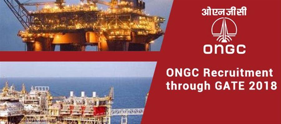 Apply immediately for 2018 ONGC Recruitment post