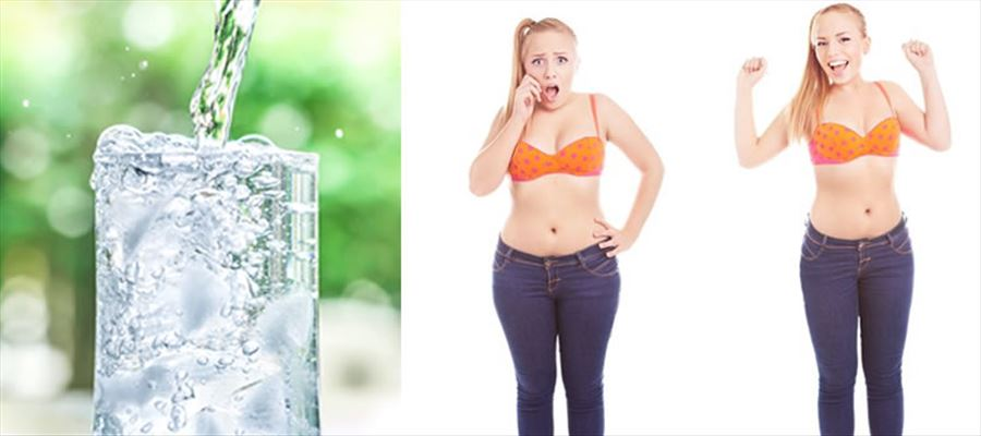 Drinking more Water may lose weight