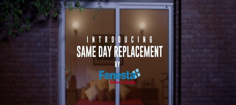 Fenesta Launches Same Day Replacement Service for Windows