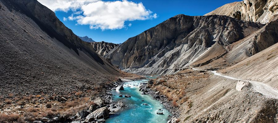 Spiti, Best place for its rugged mountains cape