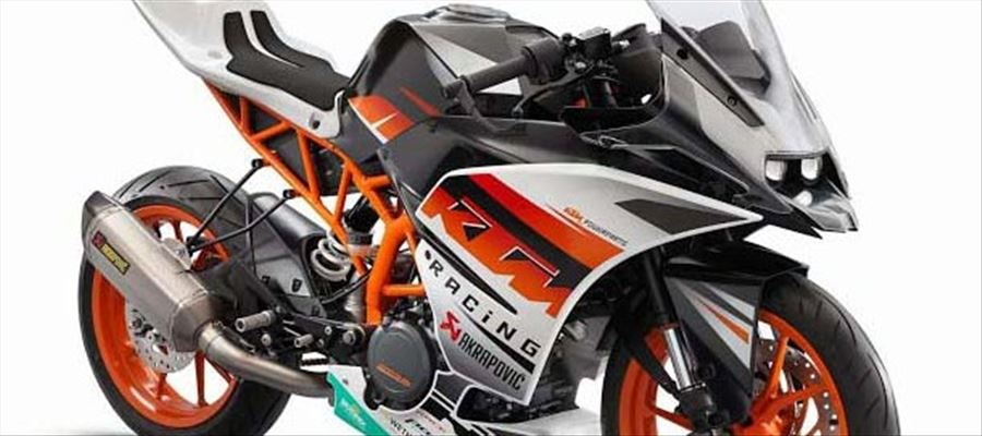 KTM catapulted smaller super sport