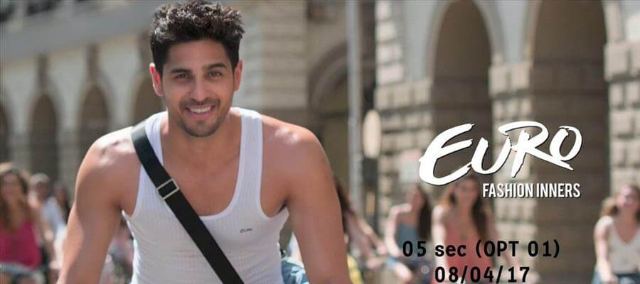 Euro Fashions Introduces Sidharth Malhotra as its Brand Ambassador, Launches New TVC