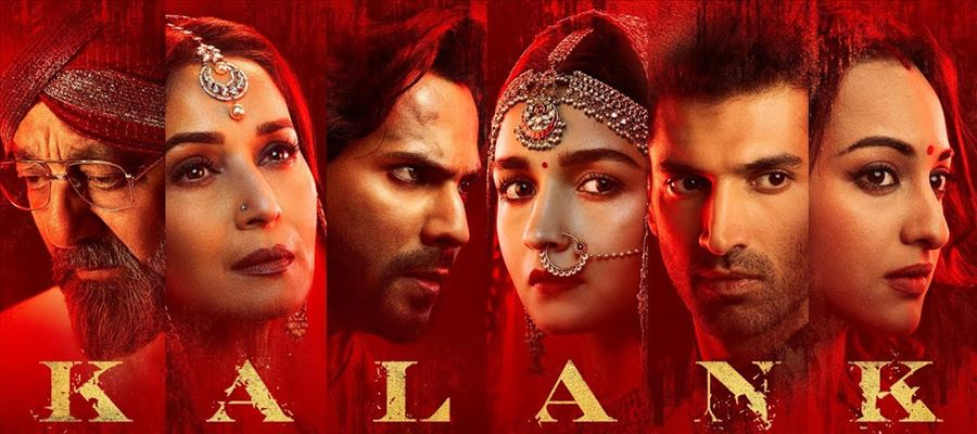Star cast of Kalank looked royal in their all-red outfits for its promotion