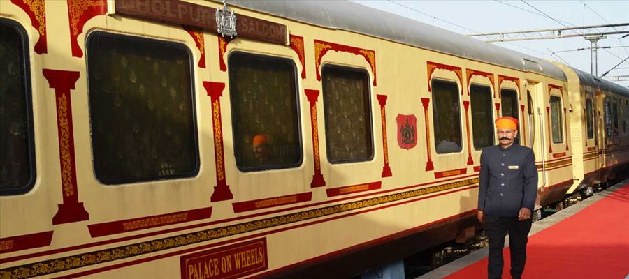 Lifetime experience in Luxurious Train Journey in Rajasthan