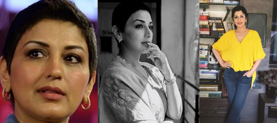 Actress Sonali Bendre cried a whole night when she was diagnosed with Cancer