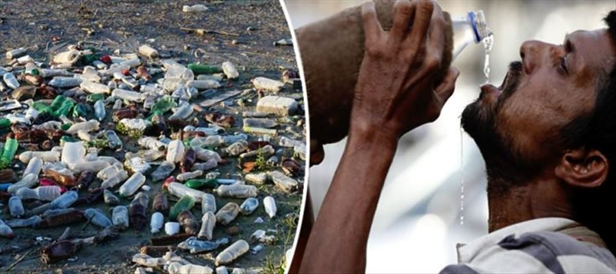 Study revealed average person is consuming about 2,000 tiny pieces of plastic every week