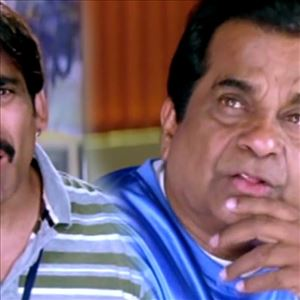 Ravi Teja and Brahmanandam Comedy Scenes