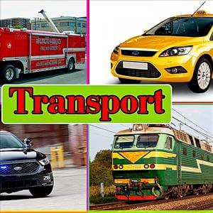 Learn Transport Vehicles For Children and Kids