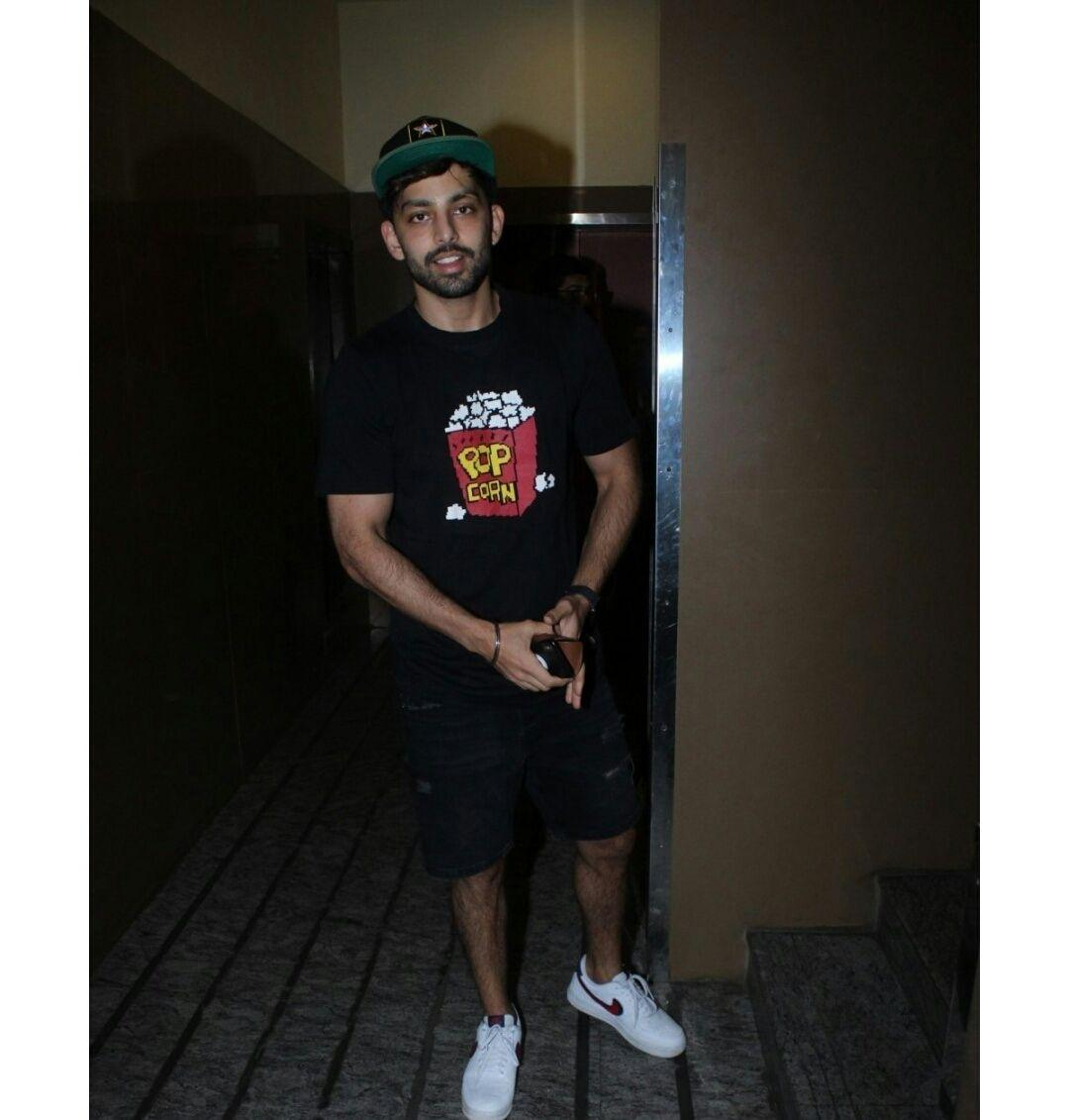 Himansh Kohli at a Cinema Hall