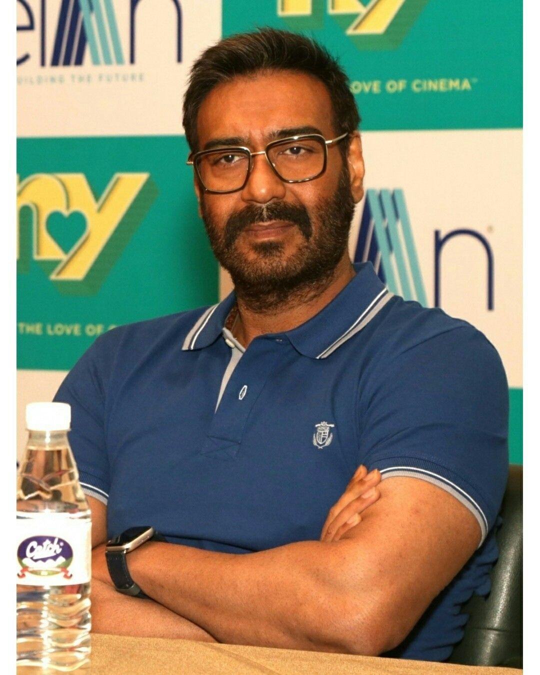 Ajay Devgn Press Conference gallery