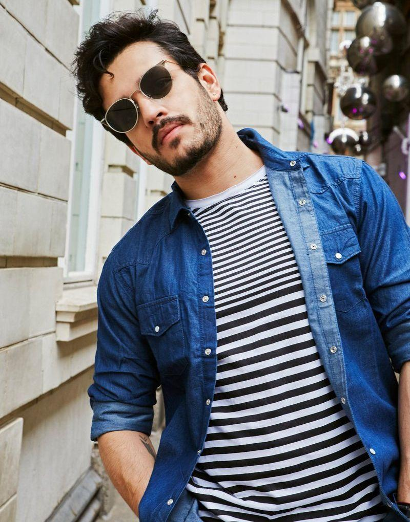 Akhil Akkineni looking uber cool in these latest clicks in London!