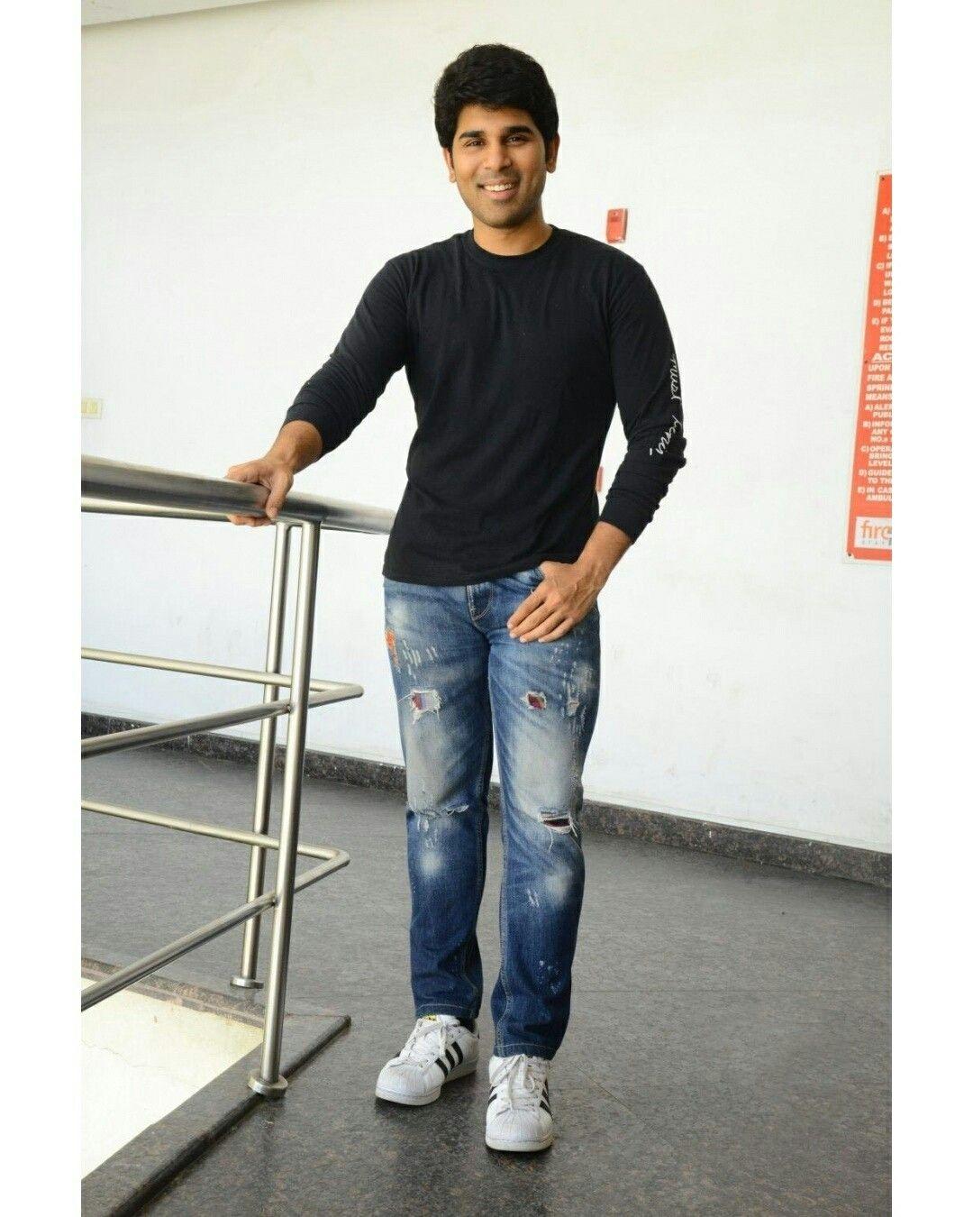 Allu Sirish stills from ABCD movie interview