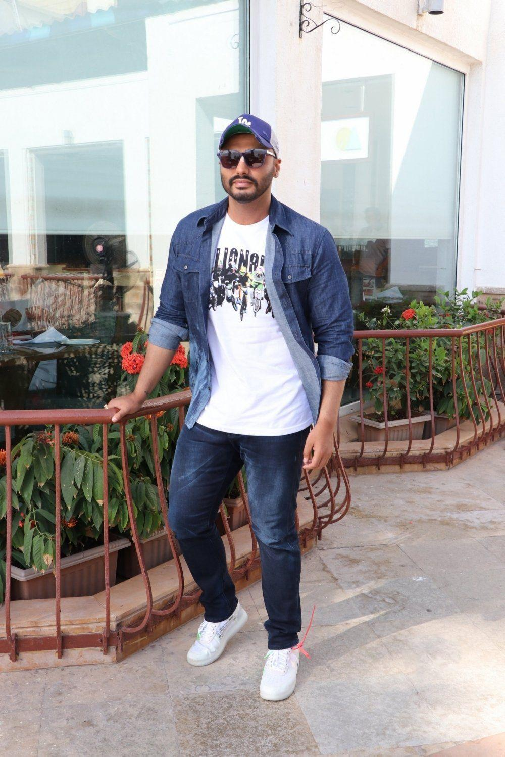 Arjun Kapoor at Indias Most Wanted Movie promotions
