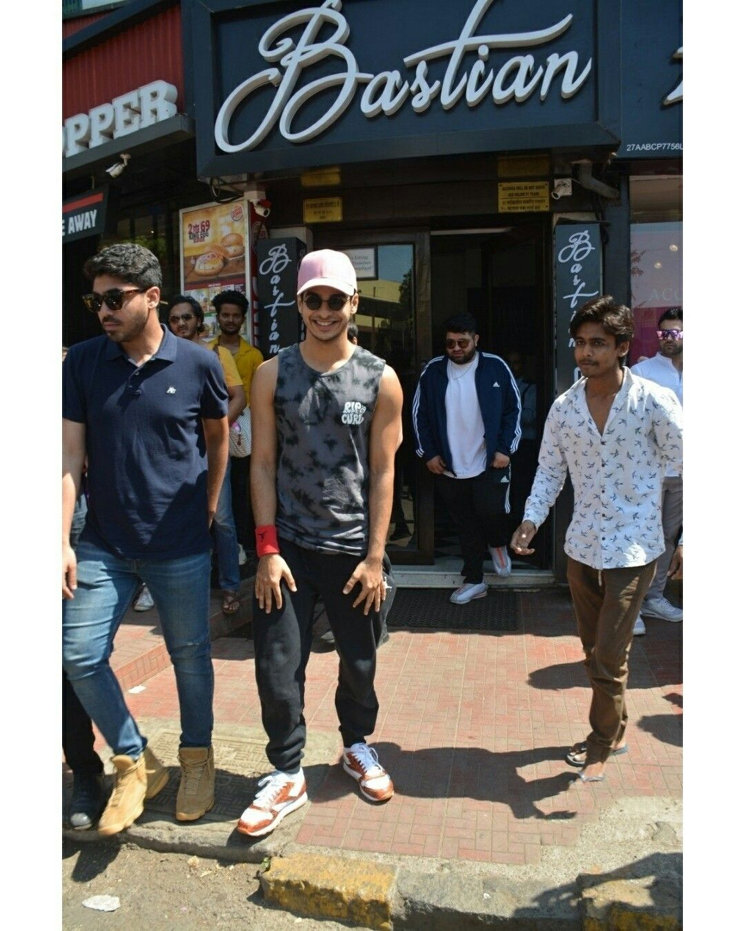 Ishaan Kumar seen at Juhu