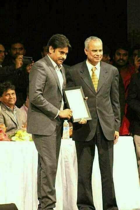 Janasena Party Chief Pawan Kalyan honoured with IEBF Excellence Award